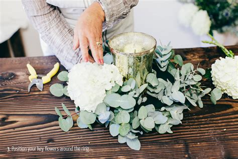 diy winter wedding ideas uk a floral diy tutorial showing you how to create a luxury