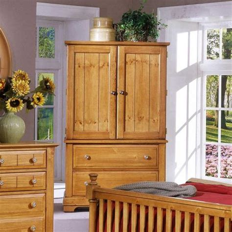 bb20 117 vaughan bassett furniture cottage pine armoire