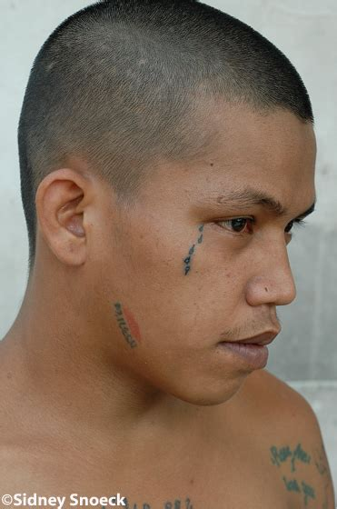 teardrop tattoo under eye 15 prison tattoos rocked by knock criminals