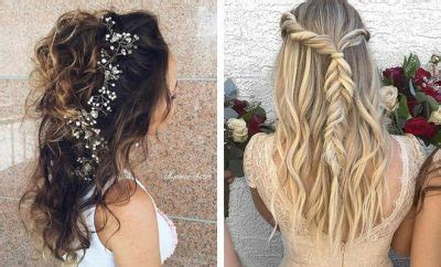 31 half up half hairstyles for bridesmaids stayglam