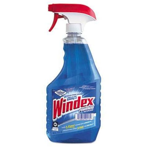 windex 174 powerized glass cleaner with ammonia d 174 quart