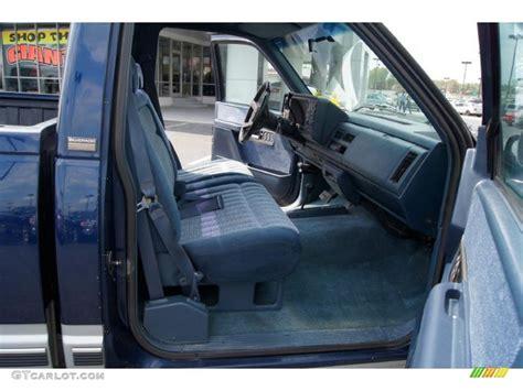 K1500 Interior by Blue Interior 1994 Chevrolet C K K1500 Z71 Regular Cab 4x4