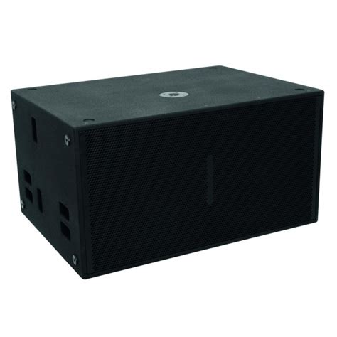 Speaker Fabulous 18 Inch 2000 Watt subwoofer 2x 18 inch 2000 watt enjy verhuur huren licht geluid beeld