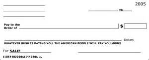 big blank check template a mail in caign send big blank joke checks to msm