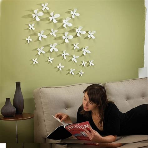 wall decorating ideas gadgetsmultiple flowers for decorating your wall