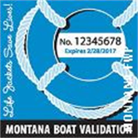 montana boat validation decals new boat validation decals required montana hunting and