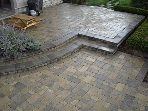 Landscape Pavers Paver Patio Outside Stuff