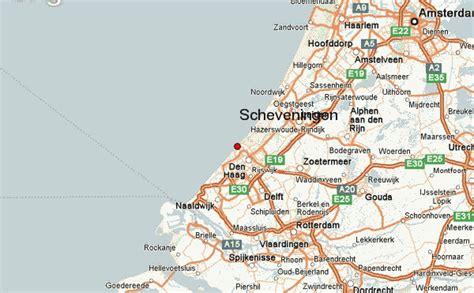 netherlands map den haag scheveningen location guide