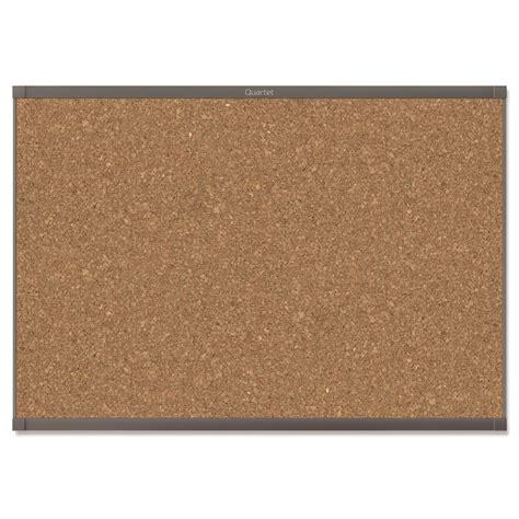Prestige 2 Magnetic Cork Bulletin Board, 4' x 3', Graphite Finish Aluminum Frame