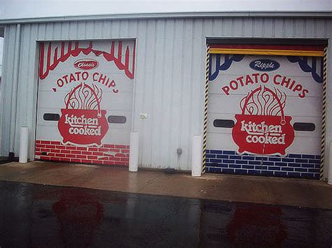 Kitchen Cooked Chips by Marty Wombacher And The Potato Chip Factory A Tour Of