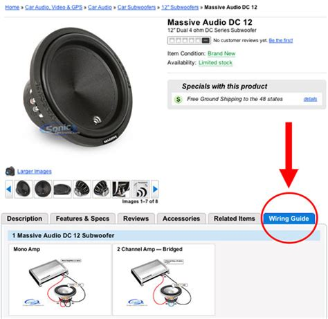 new wiring guide on car subwoofer product pages blog