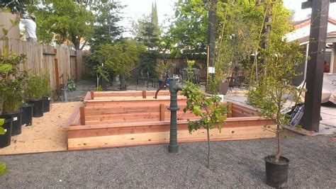 planter box  vegetable garden fawnbrook project