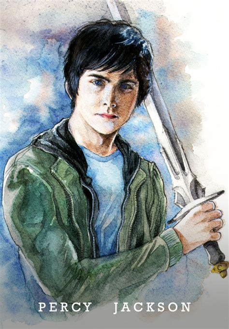 a portrait of the artist as a books percy jackson books characters fan 30577346