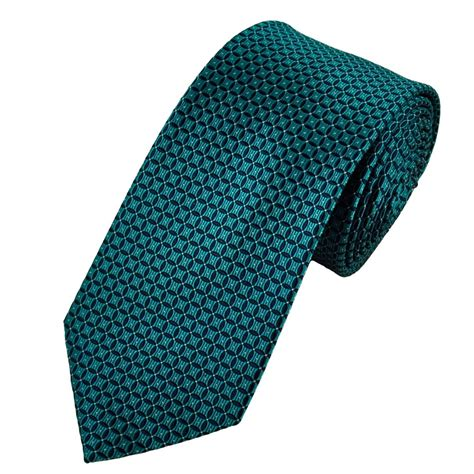 blue patterned ties navy blue turquoise patterned silk tie from ties planet uk