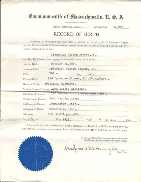 Worcester Birth Records Genea Musings Treasure Chest Thursday Post 177 Birth