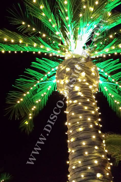 artificial tree lights artificial palm tree led lighting