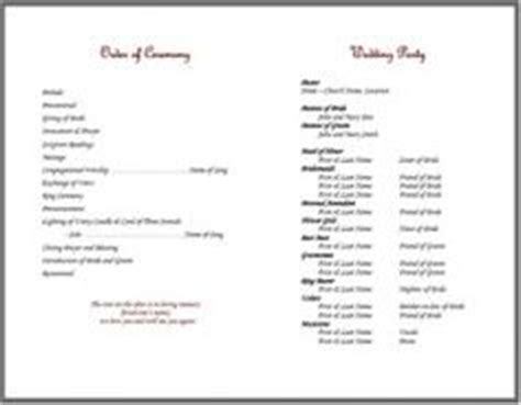 1000 Images About Bulletins On Pinterest Knots Cords And Strands Wedding Bulletin Template