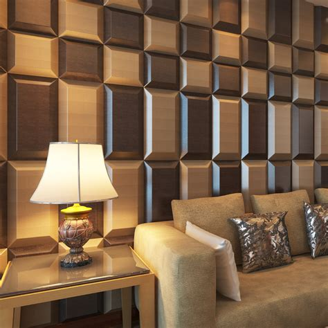 Peel And Stick Wallpaper Tiles luxury ceiling wall panel 3d wall coverings pu material