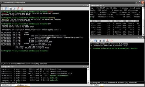 console windows alternative windows console sourceforge net