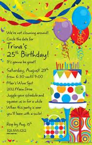 birthday invitation wording gangcraft net
