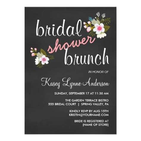 brunch invitation template free bridal shower brunch invitations 99 wedding ideas