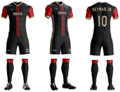 Tshirt Kaos Adidas Equipment goal soccer kit jersey template psd sports