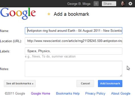 google launches new bookmarks interface for chrome ubergizmo fors 08 2011