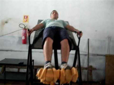 diy inversion table inversion table mesa de inverssao hernia de disco