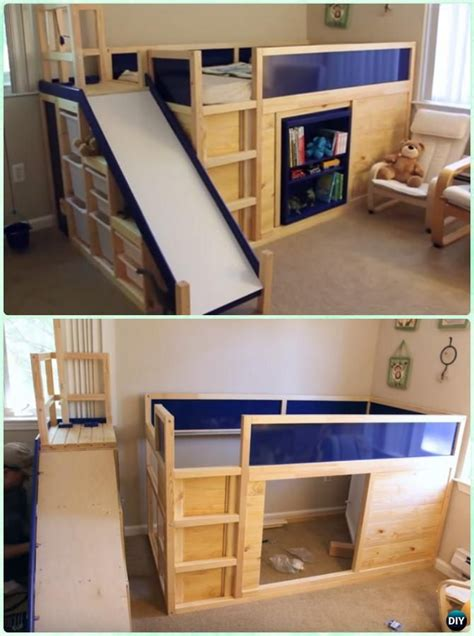 diy kids bunk bed  plans picture instructions diy