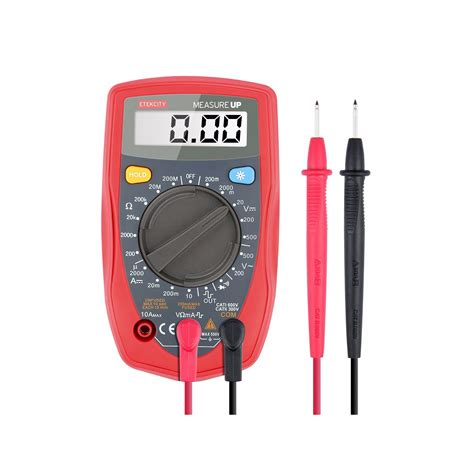 Digital Ohm Volt Meter etekcity digital multimeter dmm multi tester voltmeter