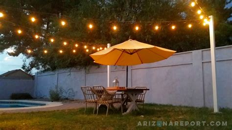 how to attach string lights how to hang string lights and cafe lights the arizona