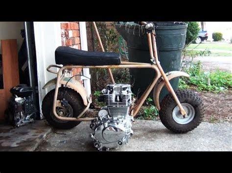doodlebug mini bike engine upgrade mini bike doodlebug drag bike project upgrade doovi