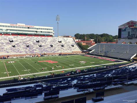 Section Q by Vaught Hemingway Stadium Section Q Rateyourseats