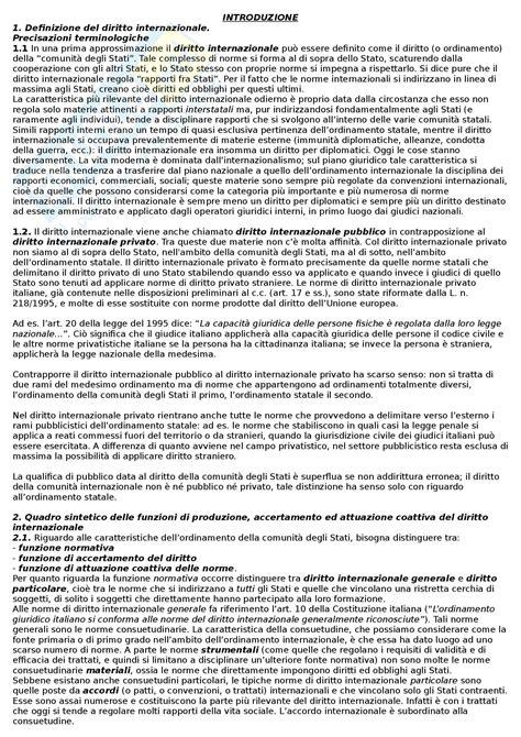 Dispense Diritto Internazionale by Risarcimento Danni Servizio Onu Parere 1949 Dispense
