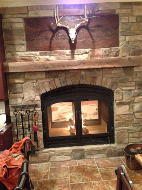 Sided Wood Burning Fireplace by 17 Best Ideas About Wood Burning Stove Insert On