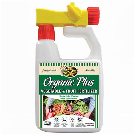 Kellogg Garden Products by Kellogg Garden Organics 32 Oz Vegetable And Fruit Liquid