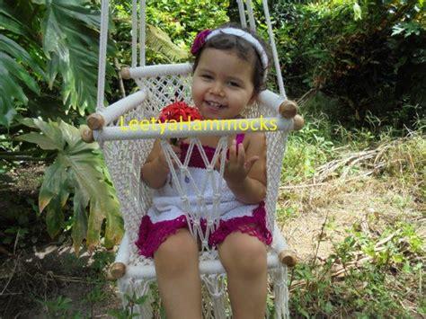 hamaca macrame silla hamaca para ni 241 o silla columpio baby hamaca silla