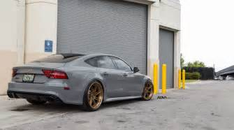 Audi Rs7 Build A Nardo Gray Audi Rs7 Gets New Shoes Installed Adv 1 Wheels