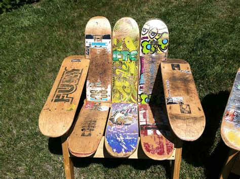 Handcrafted Skateboards - buy a crafted skateboard deck chair made to order