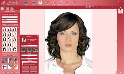 virtual hairstyles design studio virtual hairstudio excellent assistant in creation of
