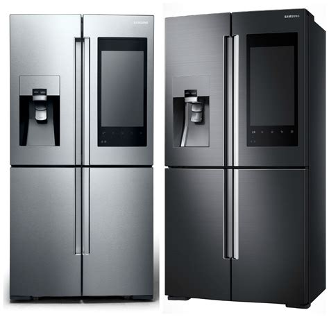 samsung s new smart refrigerator lets you on the in the fridge android authority