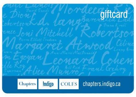 25 chapters indigo gift card tellwut com