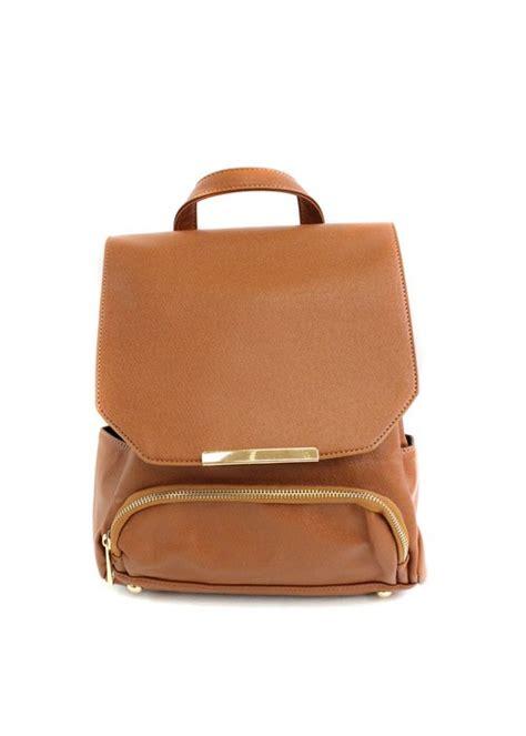 camel back pack bailey camel leather backpack by culture riot on bogatte