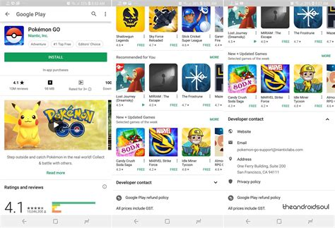 Android Play Store Like Ui Play Store Apk Version 9 5 09 9 4