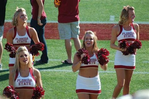 florida state college cheerleaders 319 best images about sports college cheerleaders on