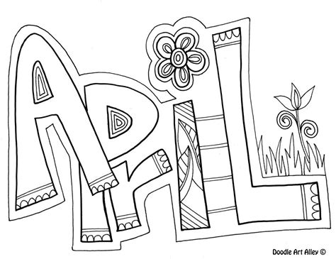 color for april april coloring pages for zentangle and coloring