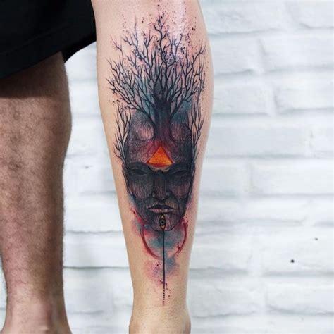 calf tattoo family tree tree tattoos designs bonsai redwood pine weeping