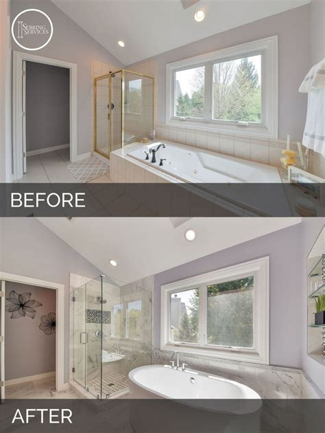 before and after master bathroom remodels 17 best ideas about bathroom remodeling on pinterest