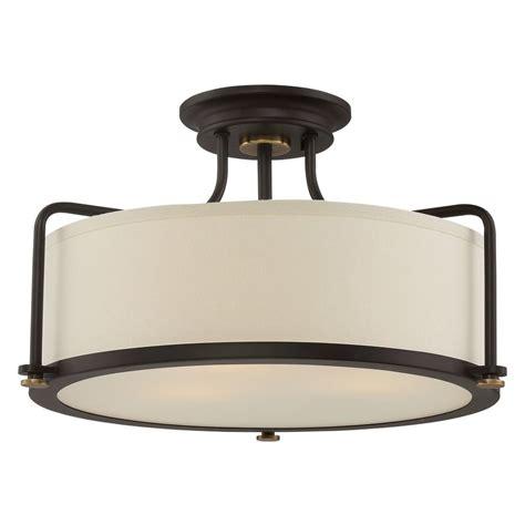Western Light Fixtures Quoizel Lighting Quoizel Fixture Western Bronze Semi Flushmount Light Qf1715wt Destination