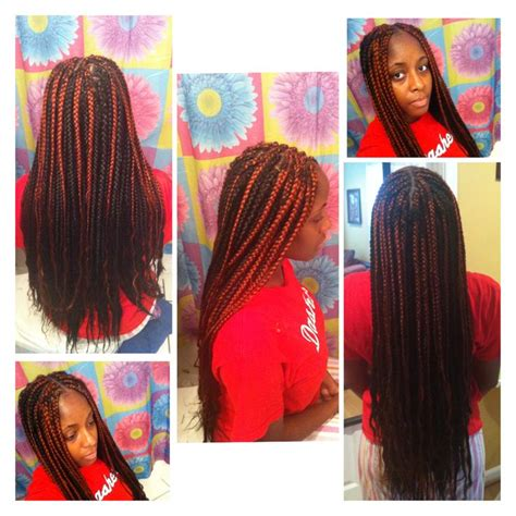 small braids color schemes box braids with color protectivestyle hairstyles